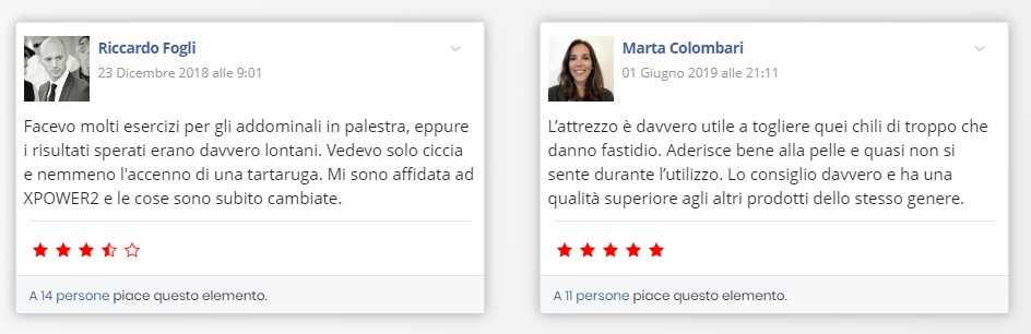 opinioni e testimonianze x power 2.0