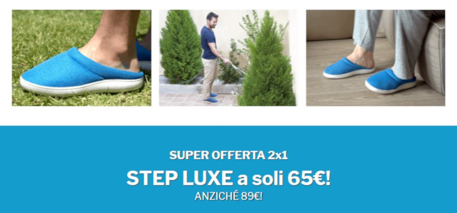 stepluxe recensione