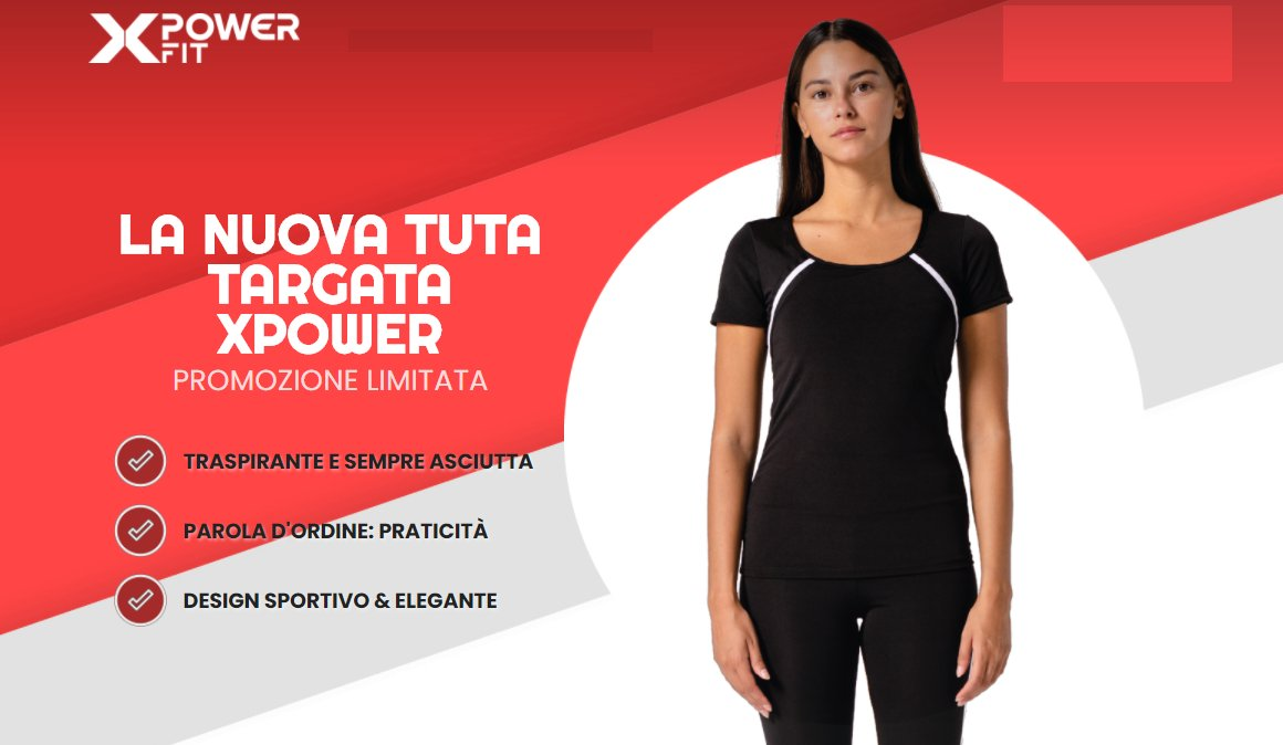 recensione xPower Fit